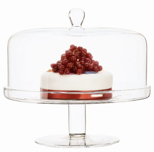 Cake Stand &  Dome 26.5 cm
